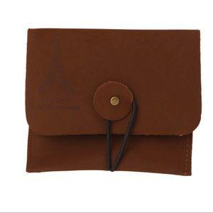 Handbags - Faux Suede Mini Wallet